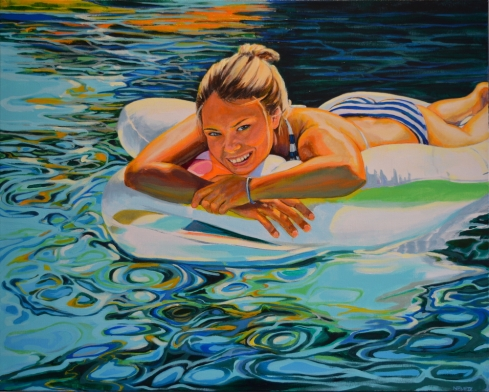 Mette 24 x 30 Acrylic on Canvas